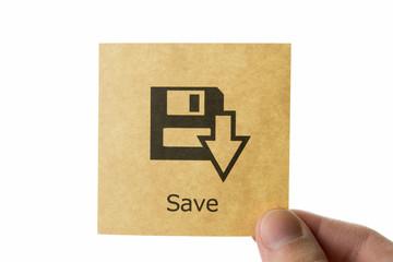 保存 アイコン save