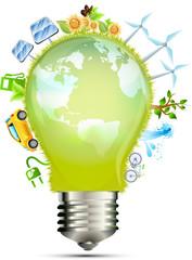 Bulb green energy World