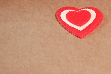 Heart Love You Vintage Greeting Card, XXXL