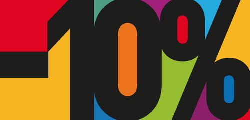 -10% COULEURS