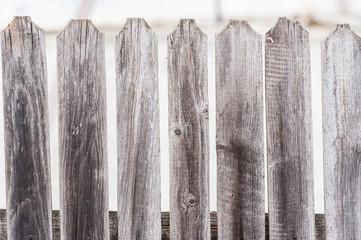 Beautiful pattern of grey wood fence