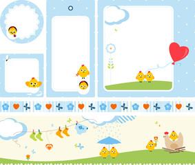 Baby Design Set Chickens