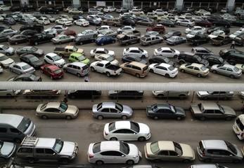 car, parking lot