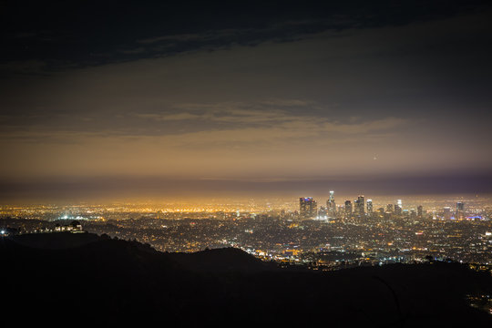 Twilight Over The Los Angeles Basin