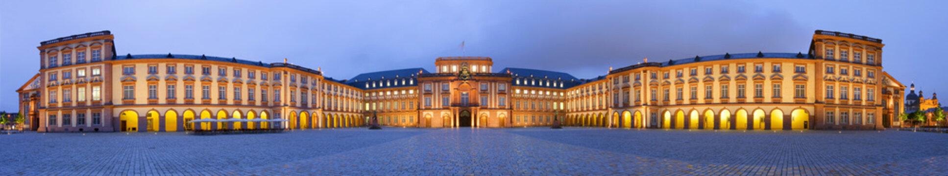 Schloss Mannheim Panorama