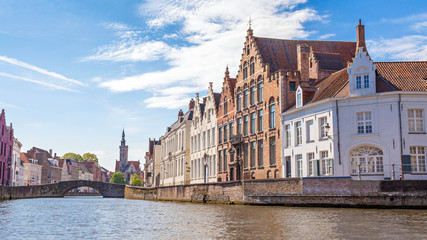Waterfront in Bruges