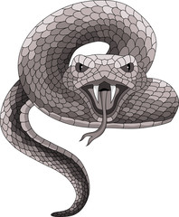 Vector Tattoo Snake