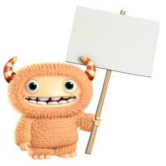 Wall Murals Sweet Monsters 3d cartoon monster