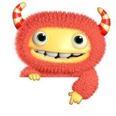 Recess Fitting Sweet Monsters 3d cartoon monster