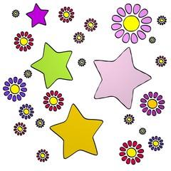 spring flower star  collectrion