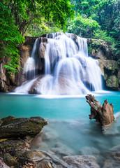 Wall Mural - Waterfall at Kanchanaburi Province, Thailand
