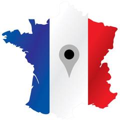 Localisation de la France