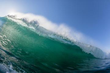 Ocean Wave Crashing Swimming