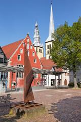 Altstadt von Lemgo mit Nicolaikirche
