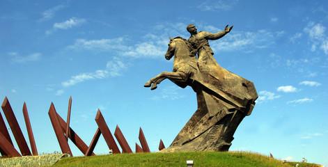 Monument à Santiago de Cuba.
