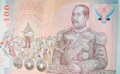 Thai 100 Baht banknote