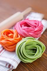 color pasta