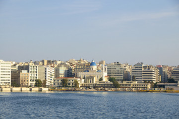 The harbor of Piraeus. The Port is the largest Greek seaport