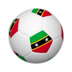 Saint Kitts and Nevis soccer ball