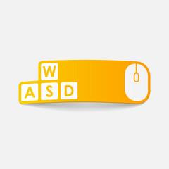 realistic design element: keypad