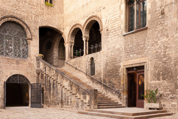 Cortile Medievale, Barcellona, Spagna