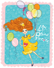 My Sweet Princess.  Cute card.