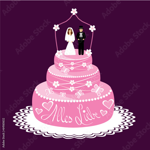 Hochzeitstorte Stock Image And Royalty Free Vector Files On Fotolia