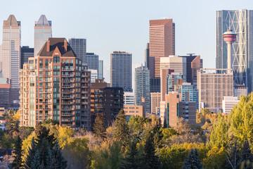 Calgary Downtown panorama