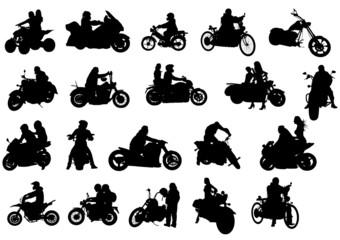 Fototapete - Bikes