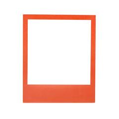 Color polaroid frame