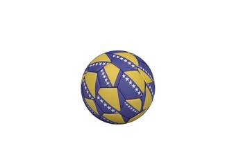 Football in bosnian colours