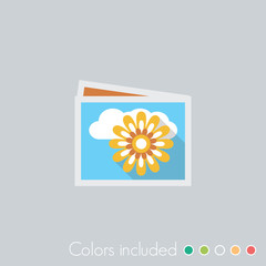 Photo gallery - FLAT UI ICON COLLECTION