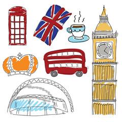Vector symbols of United Kingdom