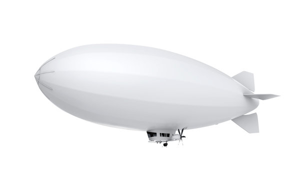 Airship Isolated