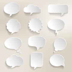 Speech Bubbles 3D