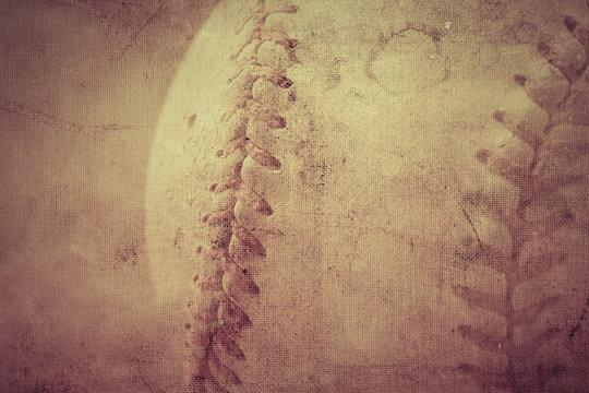 Baseball vintage background