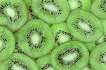 Kiwi fruit,close up image