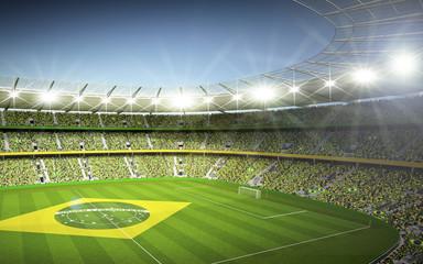 Wall Mural - Stadion Brasil 6