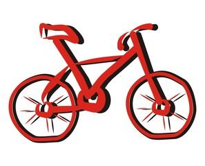 bicycle-sketch