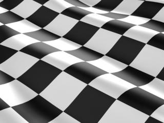 Checkered flag texture.