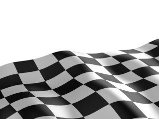 Checkered flag texture.