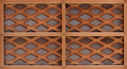 wooden lath