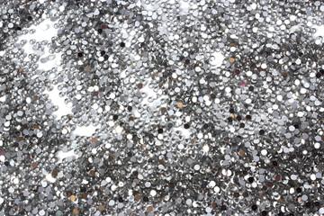 glitter silver background