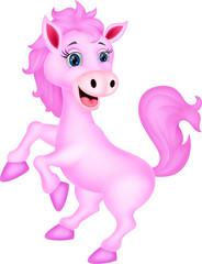 In de dag Pony Cute horse standing