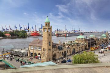 Harbour of Hamburg, Germany