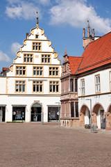 Rathaus und Marktplatz von Lemgo
