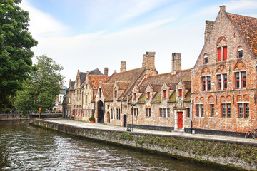 Fotomurales - Historic Centre of Brugge, Belgium