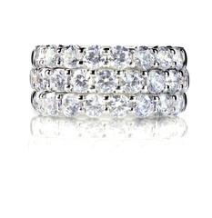 Beautiful Diamond Wedding Anniversary Band Ring