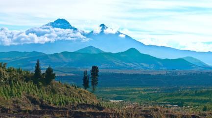 Ilinizas, Andes. Ecuador. Ilinizas Nature Reserve. Los Ilinizas