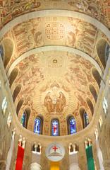 Basilica of Sainte-Anne-de-Beaupre, Quebec, Canada